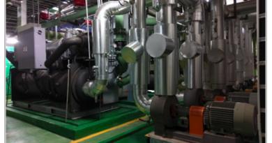冰水主機泵浦汰換及增設變頻器節能